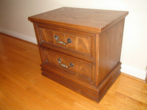 Two Beautiful Wooden Nightstand/Dressers