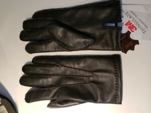 Brand new size 8.5 genuine leather gloves