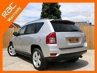 2012 Jeep Compass 2.4 Limited Ltd Auto 4x4 4WD Bluetooth Full Leather Heated Sea