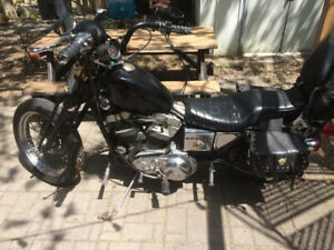 Custom 1987 Harley-Davidson Sportster 883cc