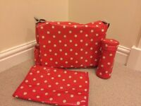 Cath Kidston baby change bag and accessories