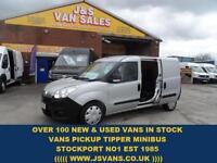 2013 13 VAUXHALL COMBO VAN 1.6 2300 L2H1 CDTI S/S 105 BHP CREWCAB VAN REAR SEAT