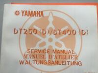 1977 Yamaha DT250 (D) DT400 (D) Service Manual