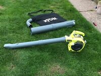 Ryobi petrol blower and sucker / hover 2 in 1