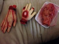 Assorted Bloody Body Parts