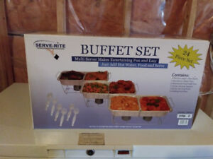 Kitchen 24 Piece Multi Server Buffet Set