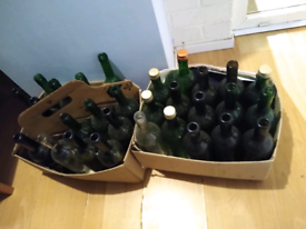 29x 75cl wine bottles for home brewing