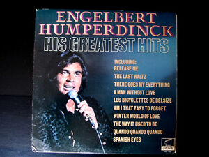 ENGELBERT HUMPERDINCK  classic original  LP Record