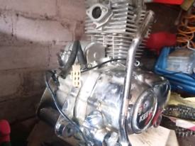 Keeway superlight engine