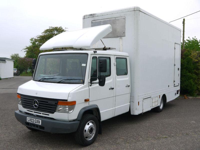 Mercedes Vario 814d Box Van Luton Removals Hgv Storage Low