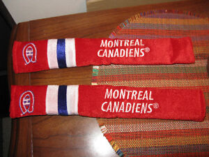 Montreal Canadiens seatbelt covers