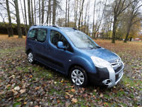 2008 58 reg Citroen Berlingo 1.6HDi 90hp Multispace XTR netherton cars