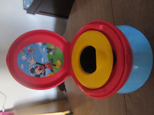 Mickey Mouse 4-in-1  Potty