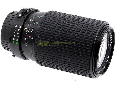 Minolta MC-MD zoom Tokina RMC 80/200mm. f4. Utilizzabile su digitali.