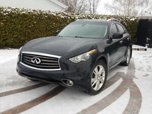 2013 Infiniti FX37 QX70 TECH PKG+TRAFFIC CONTROLE, NAVI, 4camera