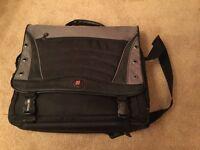 Swiss army laptop messenger bag