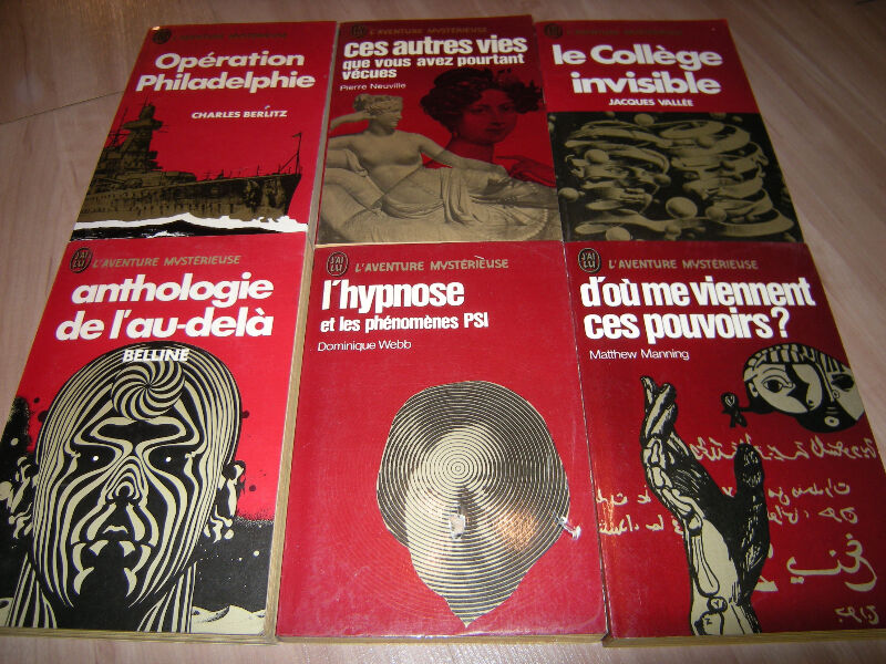 Collection LAventure Mysterieuse Sciences Occultes