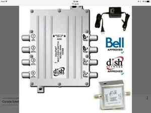DP44 Multi-Switch pour Recepteur Satellite BELL - NEUF