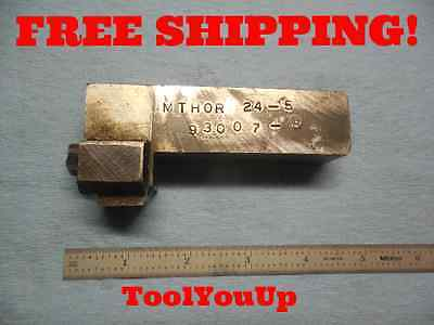 Modified Shank Mthor Threading Tool Holder Now 1 Shank Tooling Toolmaker Tools