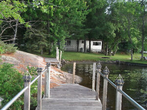 Rustic Waterfront Cottage West Arm Lake Nipissing