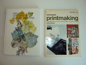 2 Books about Printmaking for $5