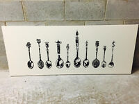 Tableau IKEA cuillères antiques / IKEA classy wall art picture
