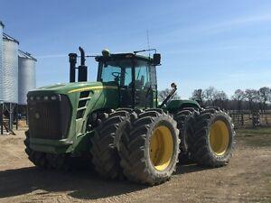John Deere 9330 Tractor with PTO