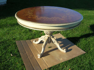 Italian Marquetry Table