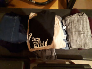 Various maternity clothes