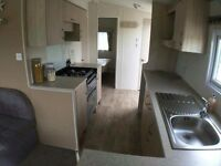8 berth caravan to hire trecco bay