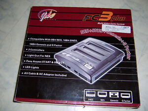 FOR SALE 3IN ONE FC3PLUS VIDEO GAME SYSTEM,