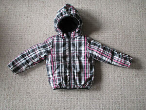Girls Reversible Down Coat size 4