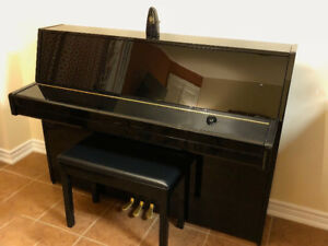 "YAMAHA B1 PE 43"" UPRIGHT PIANO"
