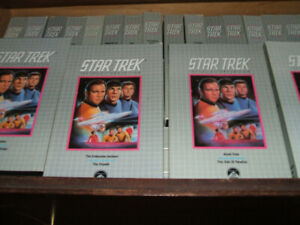 star trek the collector's edition vhs tapes