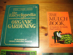 GARDENING BOOKS Organic Natural