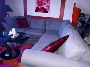 IKEA sectional Grey