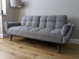 As new, barely used Furniture Village Collette Fabric Sofa Bed