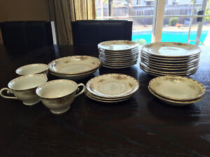 ANTIQUE DISHES- MADE IN OCCUPIED JAPAN- MEITO CHINA