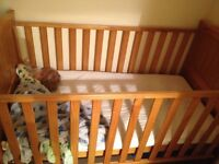 Cot bed - John Lewis - Excellent Condition!