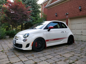 2012 Fiat 500 Abarth with extras