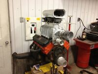 1940 ford truck project with supercharged 454 big block