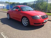 audi tt coupe 1.8 turbo 180 1 years mot full red leather interior 2003 model may take cheap px