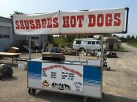 Sausage cart available.