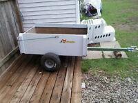 trailer pour vtt ou tracteur a gazon