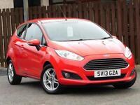 Ford Fiesta 1.25 Zetec 3dr PETROL MANUAL 2013/13