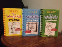 Diary of a wimpy kid 3 books for price of one 20$ OBO