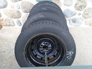 pneus d'hiver à glace