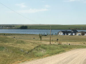 Serviced lot lake view, 100 feet from lake