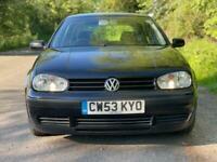 Volkswagen Golf MK4 1.4 Final Edition *HPI CLEAR*S.H*JUST SERVICED*LONG MOT*