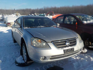 2003 Nissan Altima Now Available At Kenny U-Pull Cornwall